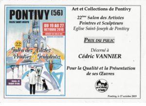 Prix du Public - 22ème Salon Art et Collections de PONTIVY